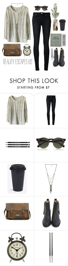"""""""Untitled #208"""" by bani-werner ❤ liked on Polyvore featuring Carven, Ettika, ASOS, Acne Studios, Newgate and Christofle"""