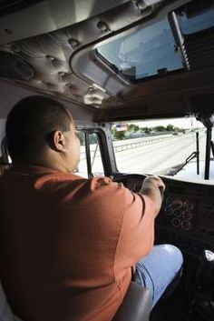 This article has some great exercises that truck drivers can do in the cab of their big rig.