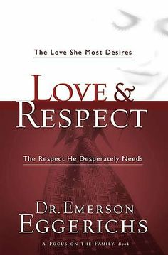 MARRIAGE (Jun 10, 2012): Love & Respect: The Love She Most Desires; The Respect He Desperately Needs by Emerson Eggerichs