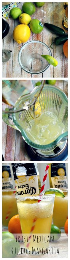 Frosty #Mexican Bulldog #Margarita - This little gem comes from #Austin, Texas to be specific!