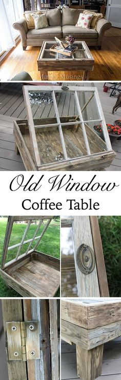 You can reuse old windows to decorate your home in different creative ways as you like. Check 17 brilliant ways to repurpose old windows and get inspired.