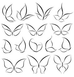 Doodle art design tattoos 32 ideas for 2019 Butterfly Nail Art, Butterfly Logo, White Butterfly, Simple Butterfly Drawing, Butterfly Tattoos, How To Draw Butterfly, Butterfly Wing Tattoo, Butterfly Nail Designs, Butterfly Outline
