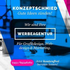 Die Konzeptschmied #Werbeagentur für den Raum #Lübeck, #Stockelsdorf und Umgebung ist Ihr professioneller Partner für #Grafikdesign, #Webdesign, #Mobile Web & #App Entwicklung sowie online #Marketing, Social Media Marketing (SMO) & #Suchmaschinenoptimierung (SEO).  Erfahren Sie mehr! #WerbeagenturLübeck http://konzeptschmied.de