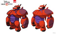 MOTH-EAT'N - Disney Infinity - Big Hero 6 Design/pose concepts...