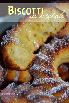 biscotti-cu-migdale Biscotti, Doughnuts, French Toast, Breakfast, Healthy, Desserts, Food, Tailgate Desserts, Meal
