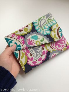 Serenity Now: 10 DIY Kindle and e-Reader Cover Tutorials