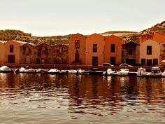 Bosa, Temo river. Sardinia
