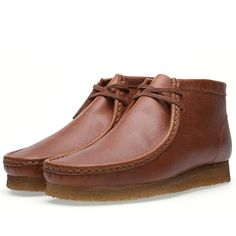 fa81baa3 Clarks Originals x Horween Leather Company Wallabee Boot (Tan Grain Leather  ) Leather Company,