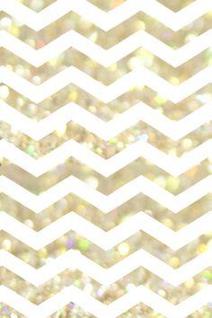 chevron background | Dress Your Tech: Gold & White Phone Wallpaper | For Chic Sake
