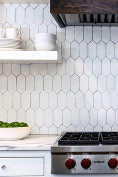 Long hexagon tiles