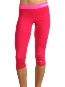 i want these in every color: the Nike Pro Combat Core Tight Capri