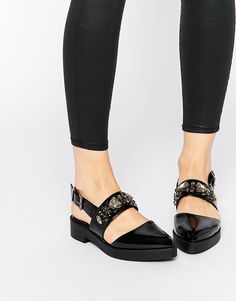 Image 1 of ASOS MERRY Flat Shoes
