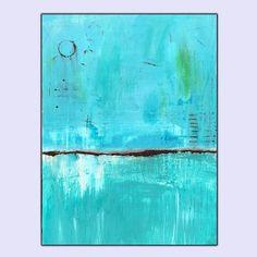 Original Blue Abstract Painting on Canvas - Lost Sea#abstractart #blueabstract #bluepainting #seascapeart  http://etsy.me/2exGA5N https://www.etsy.com/listing/491206697/original-blue-abstract-painting-on?ref=listing-shop-header-2&utm_content=buffer49548&utm_medium=social&utm_source=twitter.com&utm_campaign=buffer#listing-page-cart-inner
