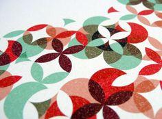 Geometric Garden Print, by Sara Olmos on Etsy