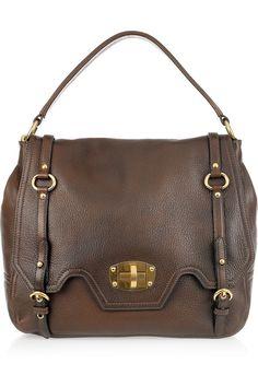 b68876a86a51 Miu Miu - Textured-leather shoulder bag