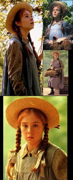 Megan Follows as Anne of Green Gables.