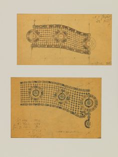 Masters of Design: The Eternal Draw of Cartier | Sotheby's  Cartier sketch for a garland styled chocker