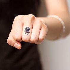 Fancy - Diamond Ring Temporary Tattoo