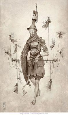 Филигранные рисунки Keith Thompson » Фото, рисунки