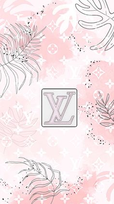 Chic LV Pastel tropics Duvet Cover for Sale by Lexi Lux Cute Wallpaper Backgrounds, Pretty Wallpapers, Aesthetic Iphone Wallpaper, Aesthetic Wallpapers, Colorful Backgrounds, Teen Wallpaper, Cool Wallpaper, Fashion Wallpaper, Louis Vuitton Background