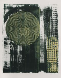 notes from 207: New Prints...Wordless Weds. except it is Thurs. - Dianne Hricko One of a series of monoprints done with MX dye on Reeves BFK - It is worth a visit to her blog. I love this series of monoprints. S