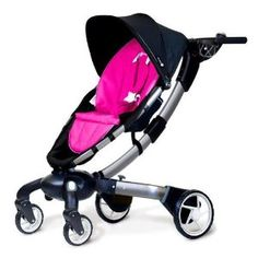 4moms Oragami Stroller- it opens and closes with the press of a button! I know a mom who would love this!   It comes in pink, blue, green, silver, red, black.