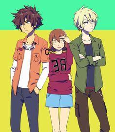 Tai, Matt, & Sora !!
