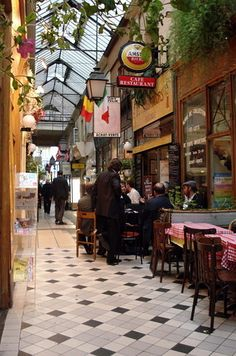 The Passage des Panoramas | The Ultimate Parisian Guide To Paris