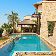 Relax in private in the lap of luxury at Sofitel Hotel Palm Jumeirah Outdoor Gazebos, Outdoor Decor, Sofitel Hotel, Palm Jumeirah, Gazebo Ideas, Luxury Pools, Pool Bar, Front Entrances, Concrete Jungle