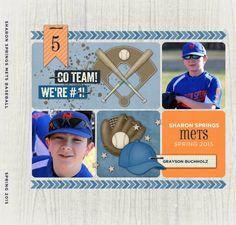 Go Team Baseball by Roxanne Buchholz