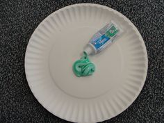 Great idea for teaching children the difference between saying thoughts and thinking thoughts. First the kids get to squeeze out a travel size tube of toothpaste and make a mess. Then have them try to put the toothpaste back in the tube. They will of course find it impossible to do and it is a great way to illustrate that we can't take back words that are hurtful to others...