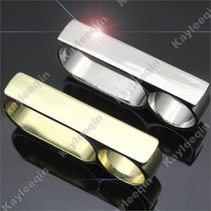 Polish Gold & Silver Bar Knuckle Duster Armour Three Finger Ring Gothic Punk Rock Biker(China (Mainland))