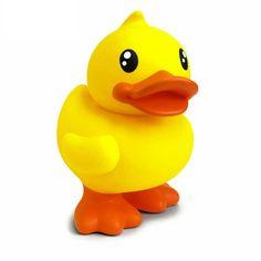 Caoutchouc Canard Baby Bath Time canard jaune vif enfants Jouets Cadeau Nouveauté