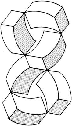 Resultado de imagen de figuras imposibles jose maria - Ilusiones opticas para imprimir ...