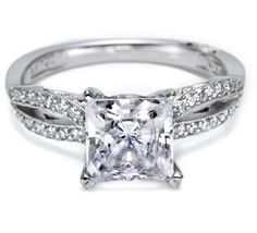 Tacori ring with infinity band Style no: 2573PR7