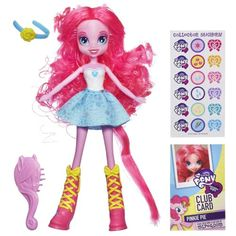 My Little Pony Equestria Girls - Pinkie Pie Doll My Little Pony,http://www.amazon.com/dp/B00CZ3F276/ref=cm_sw_r_pi_dp_B.t2sb1M8NZZPE9H