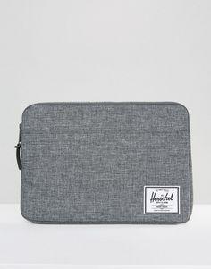Herschel Supply Co Anchor Laptop Sleeve In Crosshatch