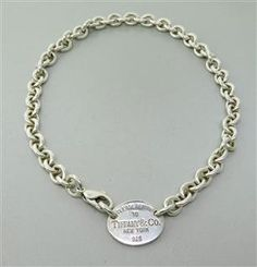 Tiffany & Co. Sterling Silver Return To Tiffany Tag chain necklace. Available @ hamptonauction.com at the Fine Jewelry Watches Coins and Collectibles Auction on November 24th, 2014! Come preview our catalog!