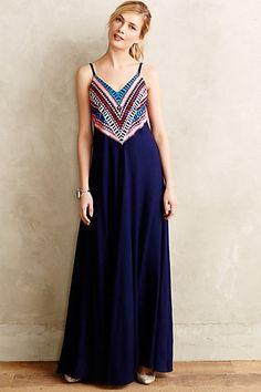 Prism Point Maxi Dress #anthrofave #anthropologie