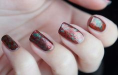 Easy Christmas nail art design by Beautyill