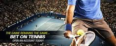 Tennis may not draw Super Bowl-sized crowds but it is still a hugely popular sport played by some of the finest athletes on earth. Tennis betting is most popular and famous betting game. Tennis Open, Simona Halep, Davis Cup, Tennis Match, Popular Sports, First Round, Sports Betting, High Energy, Book Making