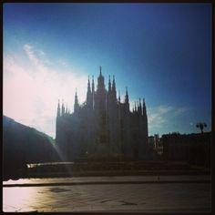 #milano #milan #duomo #dawn