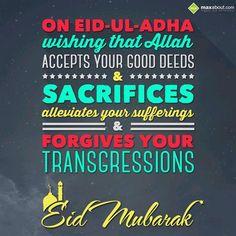 Eid Mubarak (Eid ul Adha).