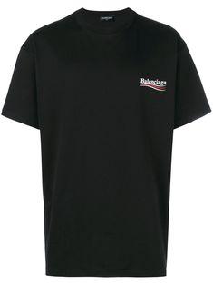 GIVENCHY Black Distressed Logo T-Shirt.  givenchy  cloth  t-shirt ... 2e2c0b9262b