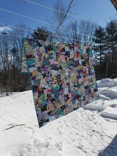 Crazy blocks Crazy Block, Family Crafts, Quilts, Quilt Sets, Quilt, Log Cabin Quilts, Comforters, Quilling Art, Crocheting