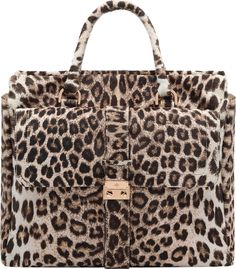 91ae867802a8 Mulberry Harriet Tote Marshmallow White Spotted Haircalf Leopard Bag