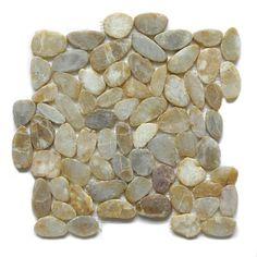 "Maple Flat Pebble Mesh 12"" x 12"" Interlocking Floor and Wall Tile (Pack of 5) | Overstock™ Shopping - Big Discounts on Floor Tiles"