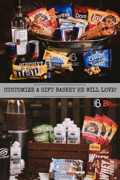 The Best Gifts For Men, Period. Shop all our gifts or customize your own today at thebrobasket.com