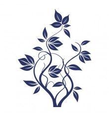 Swirly Vines & Leaves - V1D