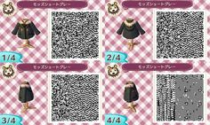 Animal Crossing New Leaf winter coat qr codes